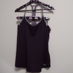 Under Armour Heat Gear Ladies Training Vest Size M